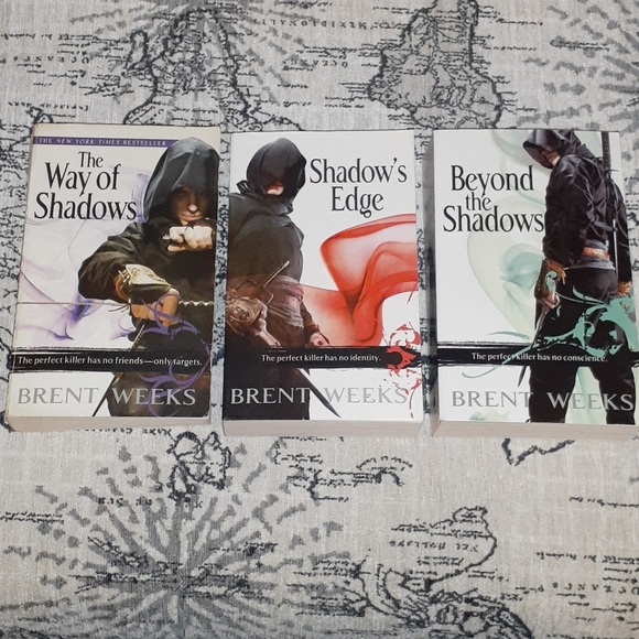 Complete Night Angel Trilogy